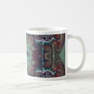 Kaleidoscope Fractal 592 Basic White Mug
