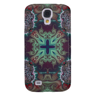 Kaleidoscope Fractal 592 Galaxy S4 Covers