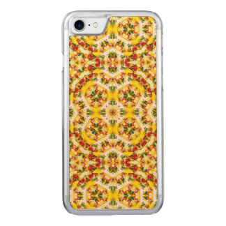 Kaleidoscope Fruits Pattern Carved iPhone 8/7 Case