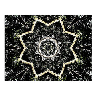 Kaleidoscope Gothic Postcard