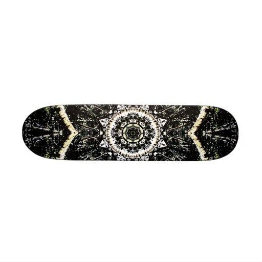 Kaleidoscope Gothic Custom Skate Board