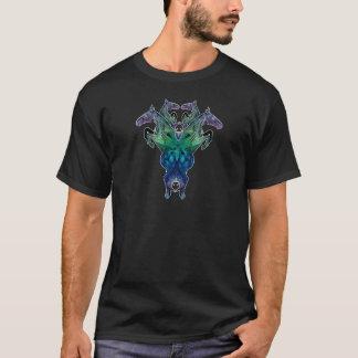 Kaleidoscope Horse Blue T-Shirt