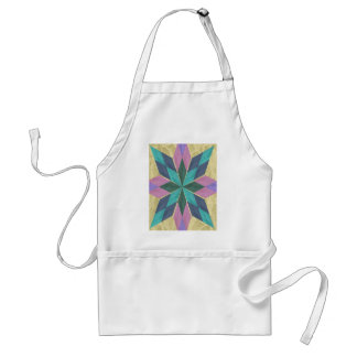 Kaleidoscope in Lace Adult Apron