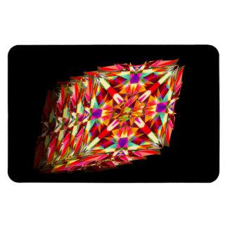 Kaleidoscope in Motion Rectangular Photo Magnet