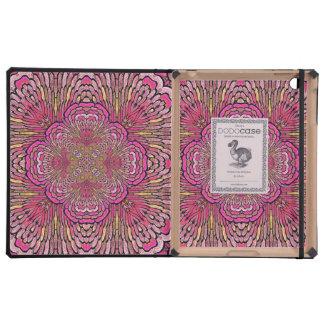 Kaleidoscope in Pink iPad DODO Case iPad Folio Case