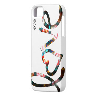 "Kaleidoscope ""love"" iPhone 5 cover"