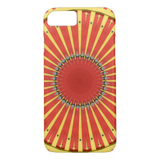 Kaleidoscope Mandala in Hungary: BigTop Pattern iPhone 7 Case