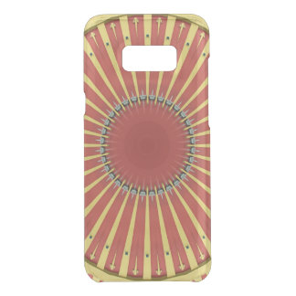 Kaleidoscope Mandala in Hungary: BigTop Pattern Uncommon Samsung Galaxy S8 Plus Case