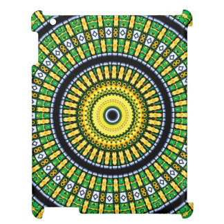 Kaleidoscope Mandala in Hungary: Pattern 197.3 iPad Cover