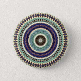 Kaleidoscope Mandala in Hungary: Pattern 197.5 6 Cm Round Badge