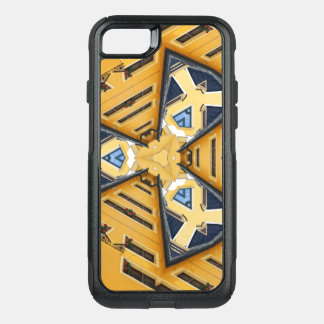 Kaleidoscope Mandala in Hungary: Pattern 201 OtterBox Commuter iPhone 7 Case