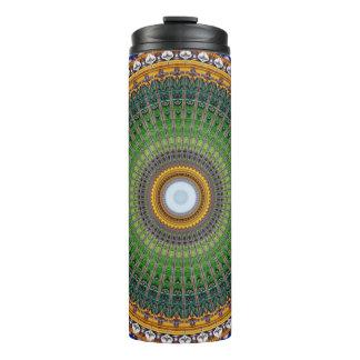 Kaleidoscope Mandala in Portugal: Embassy Pattern Thermal Tumbler