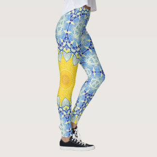 Kaleidoscope Mandala in Portugal: Pattern 224.10 Leggings