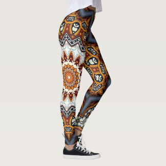 Kaleidoscope Mandala in Portugal: Pattern 224.11 Leggings