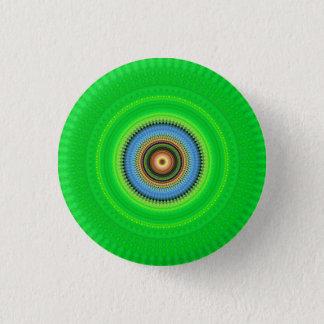 Kaleidoscope Mandala in Portugal: Pattern 224.5 3 Cm Round Badge
