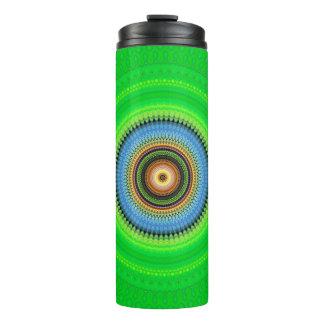Kaleidoscope Mandala in Portugal: Pattern 224.5 Thermal Tumbler