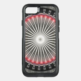 Kaleidoscope Mandala in Vienna: HBF Pattern OtterBox Commuter iPhone 8/7 Case