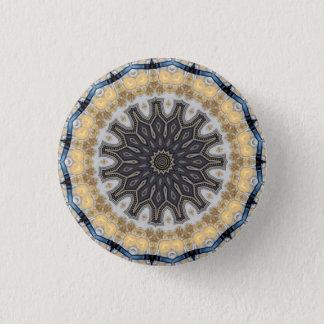Kaleidoscope Mandala in Vienna: Pattern 220.10 3 Cm Round Badge