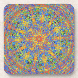 Kaleidoscope Mandala Number One Coaster