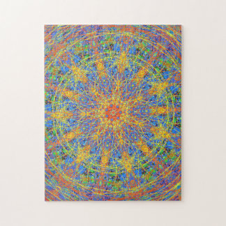 Kaleidoscope Mandala Number One Jigsaw Puzzle