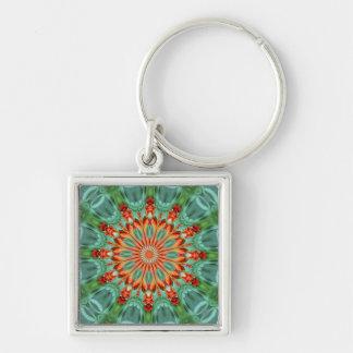 Kaleidoscope Marigold - keychain