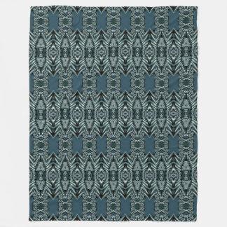 Kaleidoscope Mini Fractal II + your ideas Fleece Blanket