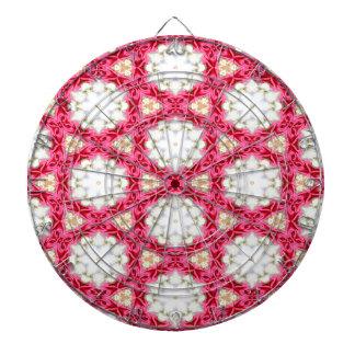 Kaleidoscope mosaic dartboard