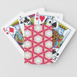 Kaleidoscope mosaic poker deck