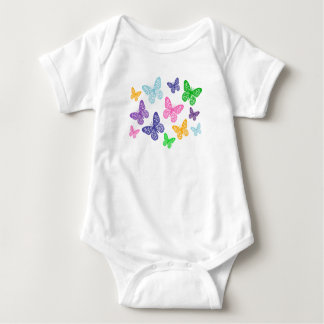 Kaleidoscope of Butterflies - Baby Bodysuit