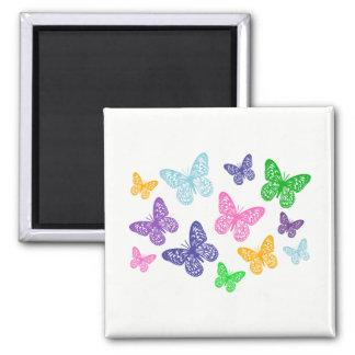 Kaleidoscope of Butterflies - Magnet