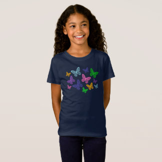 Kaleidoscope of Butterflies - T-shirt