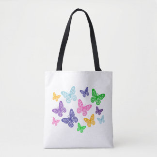 Kaleidoscope of Butterflies - Tote Bag