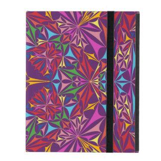 Kaleidoscope of Colors iPad Folio Case