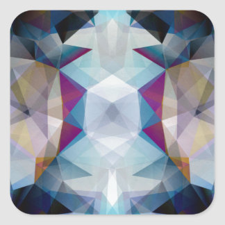 Kaleidoscope of Colors Square Sticker