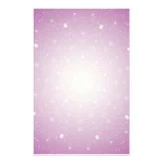 Kaleidoscope of Stars Stationary Customised Stationery
