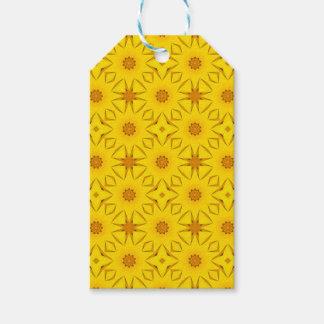 Kaleidoscope of Sunflowers, Bright Yellow Gift Tags