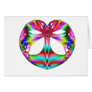 Kaleidoscope Of The Heart Greeting Card