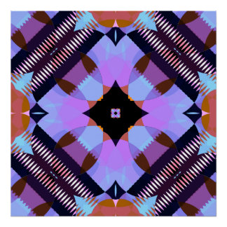 Kaleidoscope Pattern 1 Posters