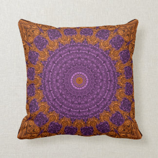 Kaleidoscope Pattern Throw Pillow