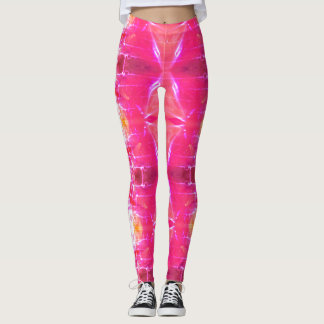 Kaleidoscope Pink Leggings