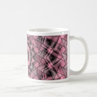 kaleidoscope pink mug