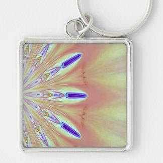 Kaleidoscope Poppy keychain