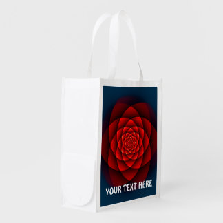 Kaleidoscope ROSE red + your text