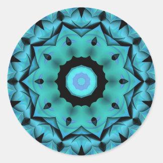 Kaleidoscope Round Sticker