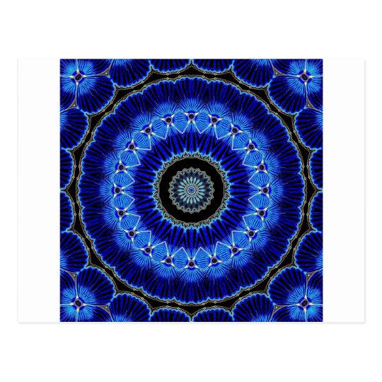 Kaleidoscope Seashell Postcard