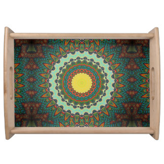 kaleidoscope serving tray