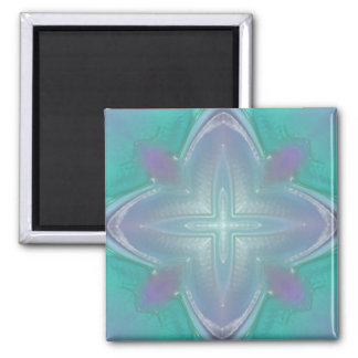 Kaleidoscope Square Magnet