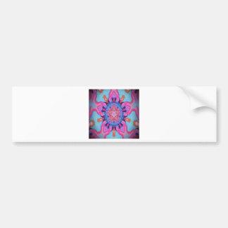 Kaleidoscope Star Design Bumper Stickers
