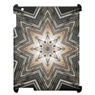 Kaleidoscope Star Mandala in Vienna: Pattern 221.2 Cover For The iPad 2 3 4