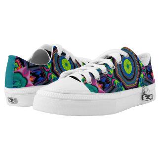 Kaleidoscope Style Printed Shoes